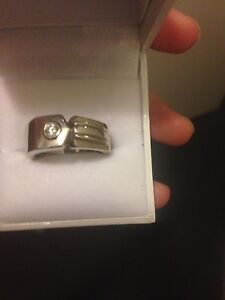 New Men's silver ring Byford Serpentine Area Preview