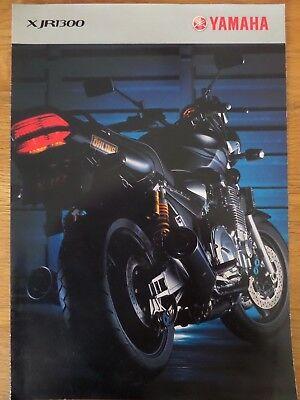 Yamaha XJR1300 Motorcycle Sales Brochure 2003