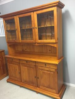 Solid Wood wall unit   Cabinets   Gumtree Australia Redcliffe Area ...