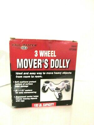 Haul-master 3 Wheel Movers Dolly