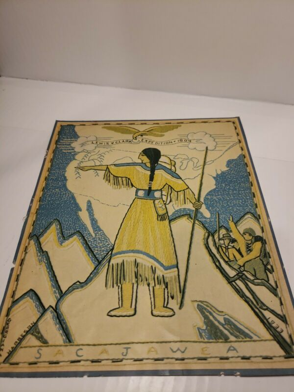 Georgina Harbeson Lewis & Clark Expedition Illustration From Home Arts Magazine