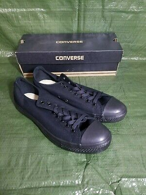 Converse Chuck Taylor All Star A/S Ox Black Monochrome M5039 Mens 10.5 Sneakers