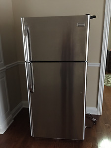 Frigidaire 18 Cu. Ft. Top Freezer Refrigerator Stainless Steel