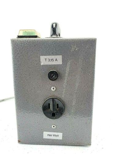 Tramag 750 Watt/ 750VA Autotransformer 230V/110V; 50/60 Hz; Type O751D