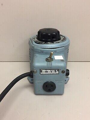 Powerstat 116b 120v 5060 Variable Autotransformer