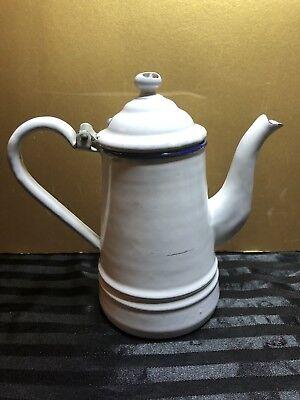 Vintage Enameled Tea Pot, Pyrolite, Germany