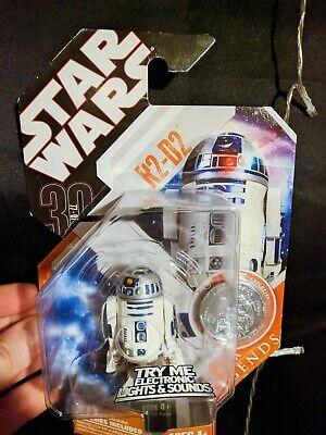 R2-D2 STAR WARS Saga 30th Anniversary Saga Legends MOC Electronic