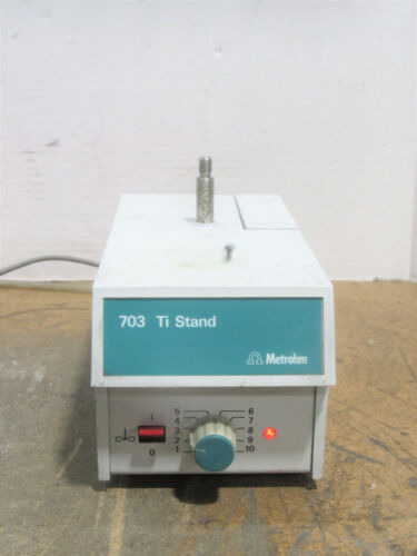 Metrohm 703 Ti Stand Compact Titration Stand Unit w/Built-in Stirrer And Pump