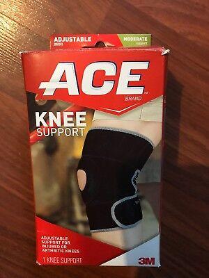 - Ace Knee Support Wraparound Wrap Brace Arthritis Adjustable Compression Neoprene