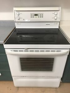 GE self-cleaning oven