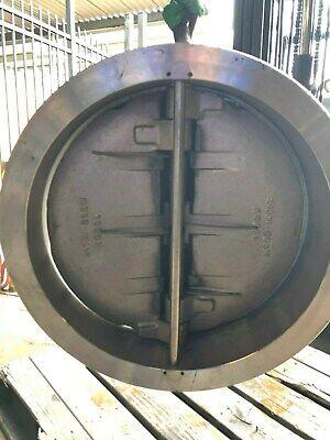 24 Sureflow Stainless Steel Check Valve Ansi 150 275 Psi New
