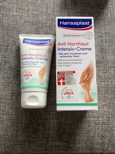 Hansaplast Anti Hornhaut Intensiv-Creme (75 ml), Creme zur Hornhaut Entfernung