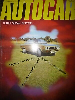 AUTOCAR 70/11/05 OPEL MANTA RALLYE 1.9 AUSTIN MAXI RENAULT 16 BEDFORD CF for sale  Shipping to South Africa