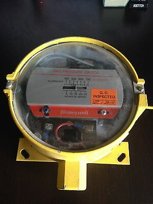 Honeywell Gas Pressure Switch 0-25 Inches Of Water