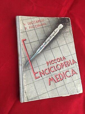 1945 PICCOLA ENCICLOPEDIA MEDICA LUCCARELLI PICCININI III ED FARMACIA TERAPIA  segunda mano  Embacar hacia Argentina