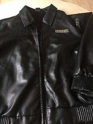VTG Men's SCARFACE Leather Jacket sz 3xl