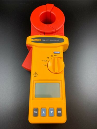 New! Fluke 1630 Earth Ground Clamp (Without Case) -Ships Free-
