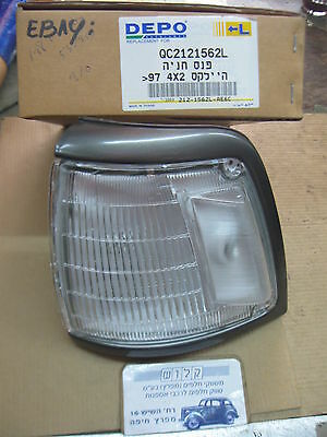 TOYOTA HILUX (N8/9) 1988 - '97 Front Indicator LAMP LH Side QC2121562L DEPO