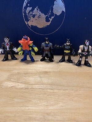 Imaginext DC Comics Figure Mixed Lot 4 Arm Alien, Bane, Dracula, Batman