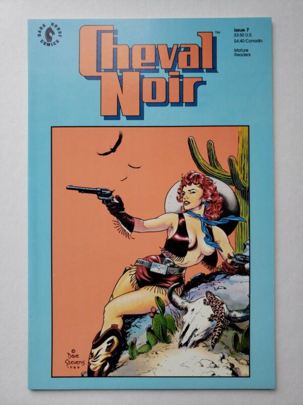 Cheval Noir #7 Dave Stevens cover Dark Horse Comics rocketeer