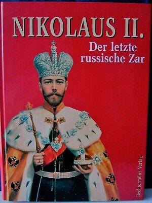 "N I K O L A U S II. "" DER LETZTE RUSSISCHE ZAR "" gebraucht kaufen  Eberswalde"