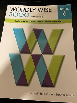 Wordly Wise 3000 Book 6 3rd Edition *PARTIAL*