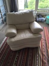 Wide Single leather couch Seaforth Manly Area Preview