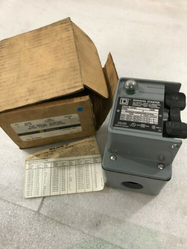 Square D FHP Manual Starter Water Tight Enclosure type 2510 FW1PG Series A (C42)
