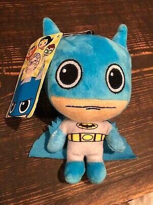 DC Comics Classic Batman Plush Stuffed Doll Toy Blue Large Eyes Classic Toy Dolls Stuffed Toys