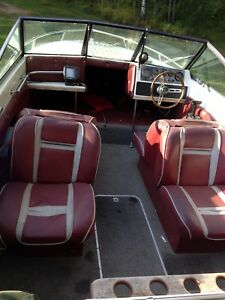 84 Malibu closed bow boat
