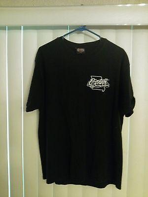 Harley Davidson Shirt Men's Size Large Short Sleeve Ozark Lebanon, Mo 2002 image