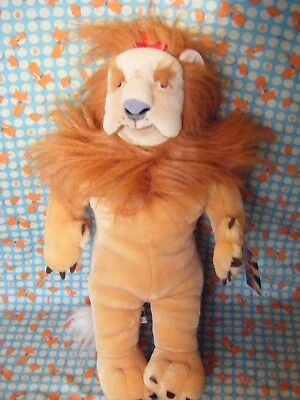 Wizard Of Oz Official Merchandise  Cowardly Lion Soft Toy With Tag 18