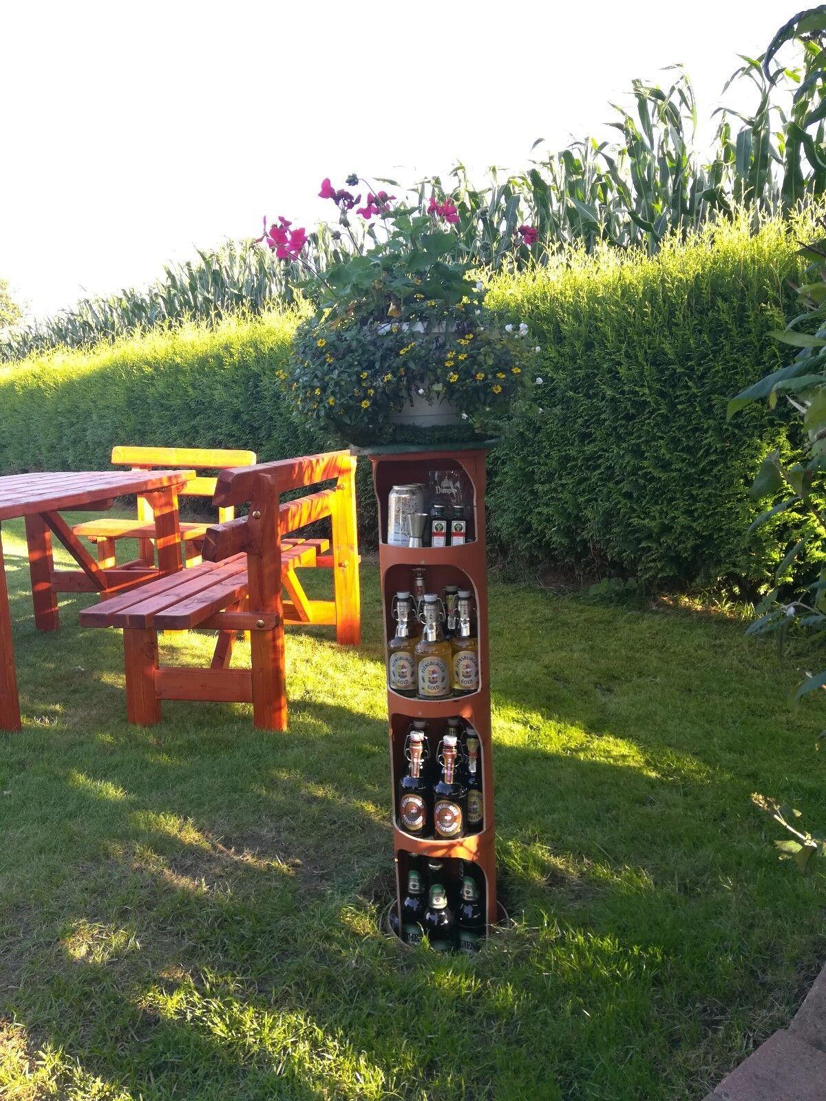 Bierkühler Erdkühler Getränke Kühler für den Garten mit Antrieb - Bauanleitung -