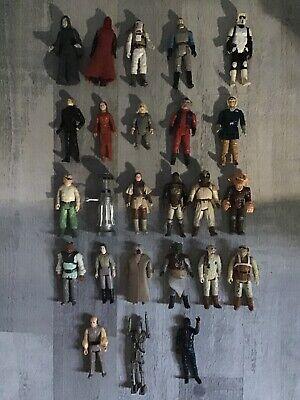 25 Vintage Star Wars Figures, Bundle