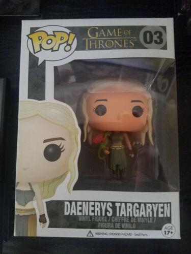 Game of Thrones™ Daenerys /& Fiery Drogon #68 Rides BOX DAMAGED Funko Pop
