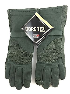 Flame Resistant Gloves - MASLEY LARGE Cold Weather Flyers Gloves Gore-Tex Anti-Microbial Flame Resistant