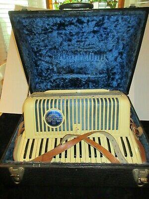 Vintage Wurlitzer Accordion with Case