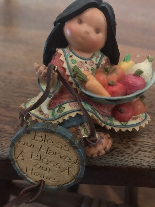 """Friends of a Feather """"Bless This Harvest Bless this Home shelf sitter 689009"""