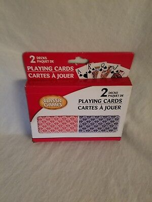 Classic Games Playing Cards, Large Print, 2 Decks](Playing Cards Games)
