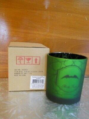 NIB Yankee Candle BAT Flickering Green Votive Holder VHTF