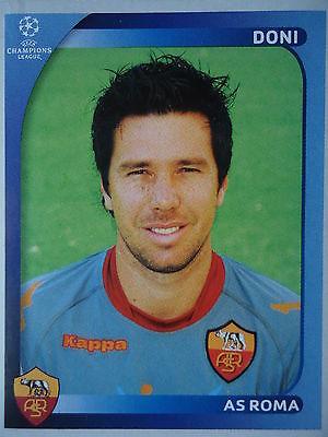 PANINI 452 DONI AS ROMA UEFA CL 2008 09