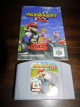 Nintendo 64 Mario Kart N64 Game + Manual Mount Hallen Somerset Area Preview