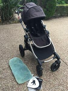 Baby Jogger City Select Stroller Pram with bonus lambskin insert Elanora Gold Coast South Preview