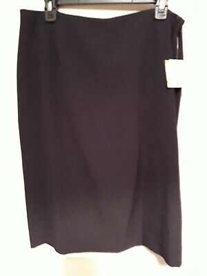 Ladies Kasper black pencil skirt. UK Size 18. New with tags