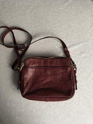 Rote Taschen (Fossil Handtasche In Weinrot Leder)
