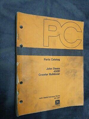 John Deere 450d Crawler Bulldozer Parts Catalog