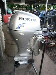 Honda 20hp ..BF20 four stroke outboard trim and tilt electric Alloway Bundaberg Surrounds Preview