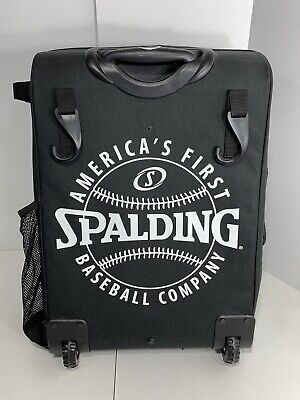 Spalding Baseball Rolling Gear Bag in Excellent Condition!