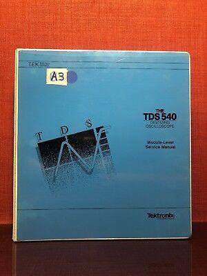 Tektronix Tds540 Digitizing Oscilloscope Module Level Service Manual 1286