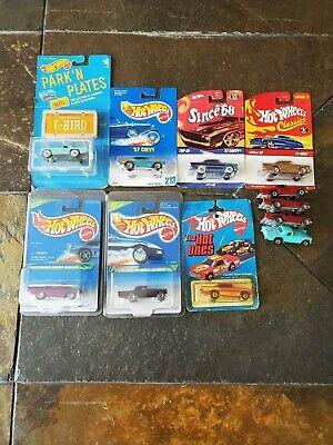 Hot Wheels Lot 11 1995 Treasure Hunt  '57 T-Bird plus 10 more